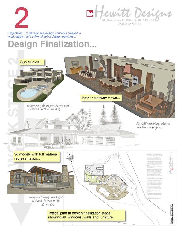 work stage 2 - design finalization