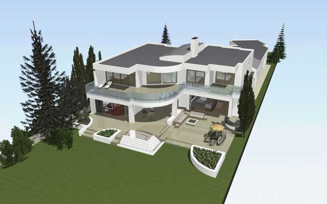 rendering with archicad 3d modelling software